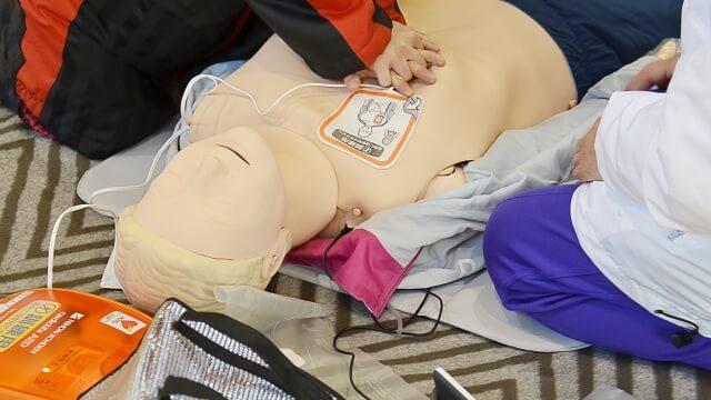 応急救護の写真